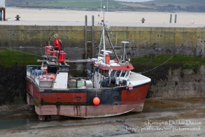 Fishing vessel in Padstow, Cornwall