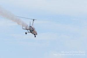 Calidus autogyro at Wales National Airshow 2015