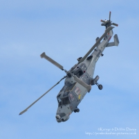 Westland Lynx ZZ380 at Wales National Air Show 2015