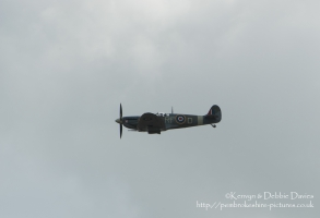 "Supermarine Spitfire Mk.V ""EN951/RF-D"" at Wales International Air Show"