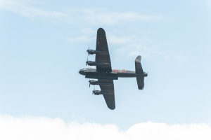 PA474 is one of only two flight worthy Lancasters left in the world. It is operated by the Royal Air Force Battle of Britain Memorial Flight as a tribute to all members of Bomber Command during the Second World War.
