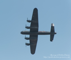 PA474 is one of only two flight worthy Lancasters left in the world. It is oper...