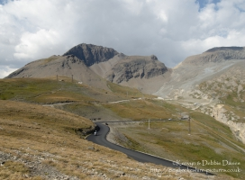 Col de l'iseran is the highest paved mountain pass in the Alps.