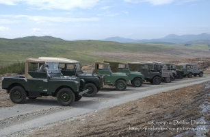 55th Anniversary Land Rover Run in North Wales