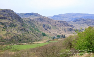 Mountainous Landscape in North Wales