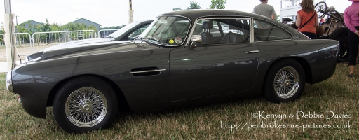 Aston Martin DB5 at CarFest 2013