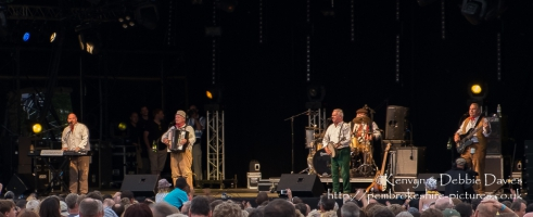 The Wurzels at CarFest 2013