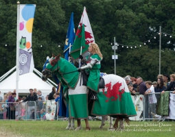 Knights of the Damned Jousting at CarFest 2013