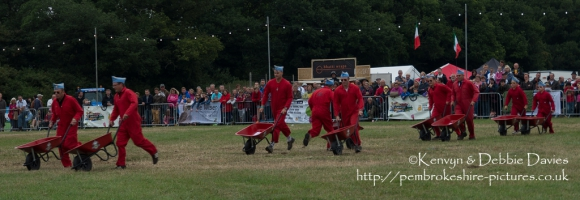 The Red Barrows at CarFest 2013