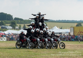 The White Helmets at CarFest 2013