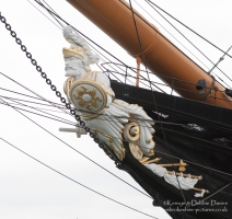 HMS Warrior's figurehead