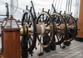 HMS Warrior in Portsmouth