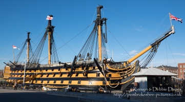HMS Victory starboard, Portsmouth