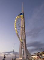 The Spinnaker Tower in Portsmouth