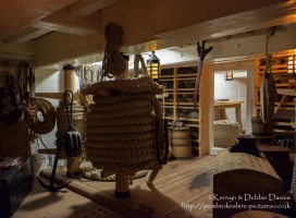 Workshop on the HMS Victory, Portsmouth