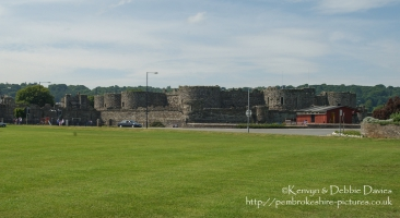 Beaumaris Castle on the Isle of Anglesey