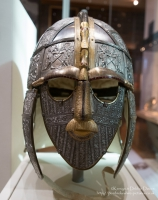 Replica of Sutton Hoo Helmet at The British Museum