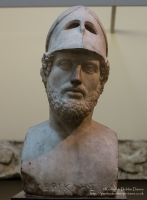 Bust of Perikles at The British Museum, London