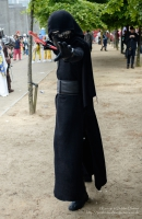 Kylo Ren, cosplayer at London Comic Con 2016