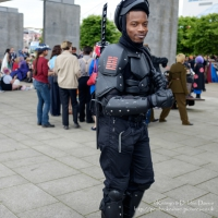 Cosplayer at London Comic Con 2016