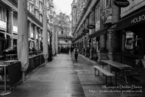 The view along Sicilian Avenue in London