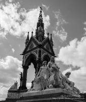 """Africa"" allegorical sculpture at The Albert Memorial"