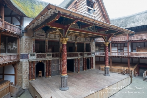 Opened in 1997, Shakespeare's Globe is a reconstruction of the original Glove T...
