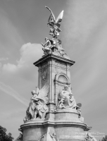 The Victoria Memorial outside Buckingham Palace