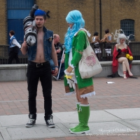 Cosplayers at London Comic Con 2015