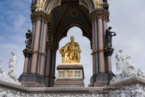 The Albert Memorial, Kensington, London