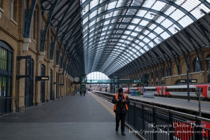 King's Cross in a quiet moment