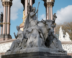 """Europe"" alegorical sculpture at The Albert Memorial"