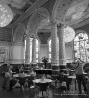 The V&A Dining Room (sometimes known as the Gamble Room) is the oldest museum cafe in the world.