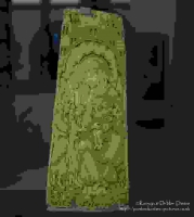 Panel with the adoration of the kings (1120-1140) at The Victoria & Albert Muse...
