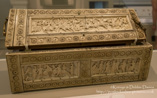The Veroli Casket, 950-1000 at The Victoria & Albert Museum