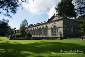 The Orangery at Margam Country Park