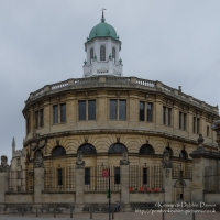 Sheldonian Theatre in Oxford, External View