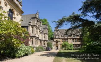 Trinity College in Oxford