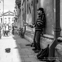 Street Performer in Oxford