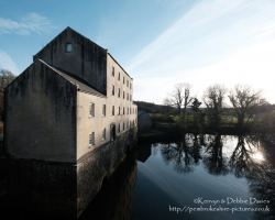 Blackpool Mill in Pembrokeshire on a Spring Evening. It's currently closed (as of 2017) to the public (and has been for several years) but there are plans to restore and reopen it. Taken with a Fujifilm X-Pro2.