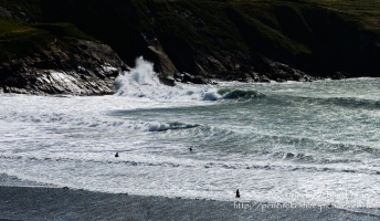 Nice day for a swim at Abereiddy
