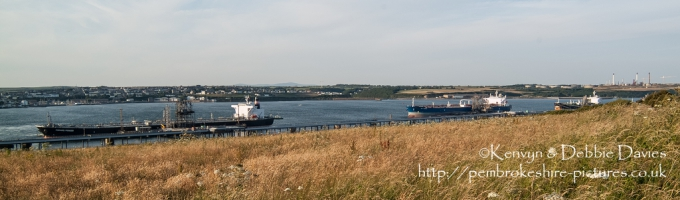 Oil Tanker at Pembroke