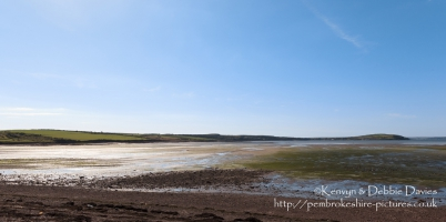 Angle Bay at low tide from near Rhoscrowther