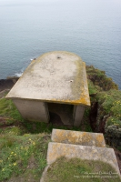 East Blockhouse Coastal Artillery Searchlight Emplacement, Angle, Pembrokeshire