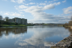 Carew Castle North East view