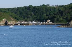 Lower Fishguard shot from Goodwick, Fishguard