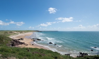Freshwater West in South Pembrokeshire, Wales