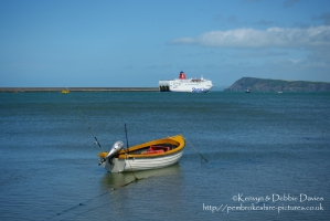 Fishing boat in Goodwick