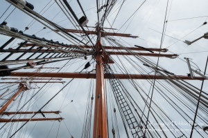 Sedov Tall Ship at Milford Haven