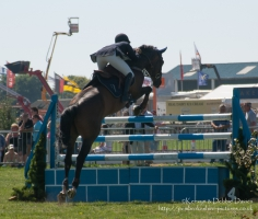 Show jumping at Pembrokeshire County Show
